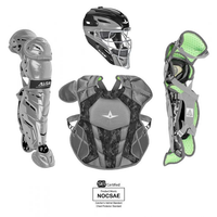 All-Star S7 AXIS Pro Catcher's Complete Set - Digi Camo - NOCSAE Certified - Intermediate (Ages 12-16)