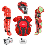 All-Star S7 AXIS Pro Catcher's Complete Set - Two-Tone - NOCSAE Certified - Intermediate (Ages 12-16)