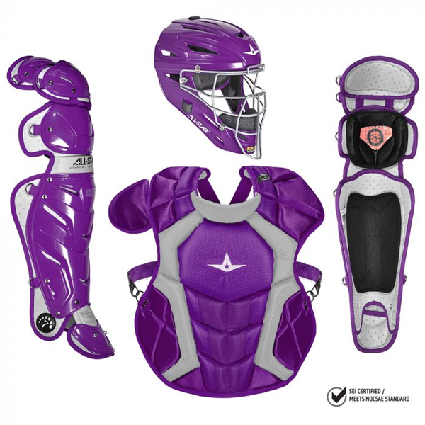 All-Star S7 Pro Catcher's Complete Set - NOCSAE Certified - Adult (Ages 16+)
