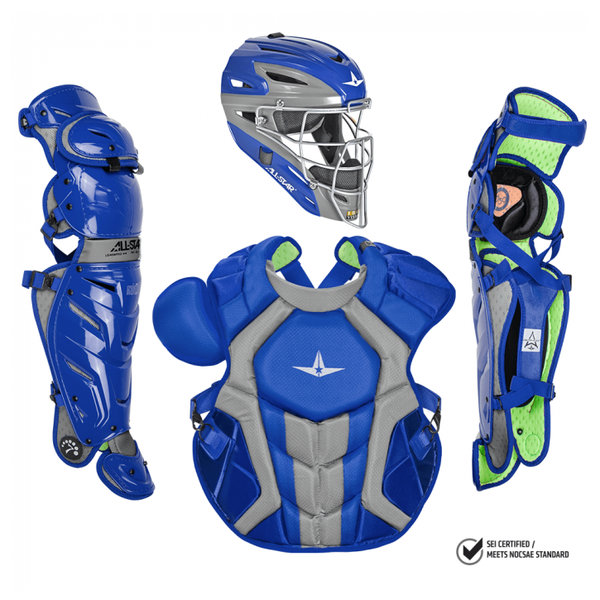 All-Star S7 AXIS Pro Catcher's Complete Set - NOCSAE Certified - Adult (Ages 16+)