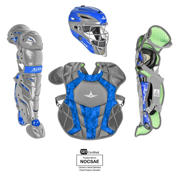 All-Star S7 AXIS Pro Catching Kit - Digi Camo - SEI & NOCSAE Certified - Youth