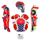 All-Star S7 AXIS Pro Catcher's Kit (USA) - SEI & NOCSAE Certified - Youth (Ages 9-12)