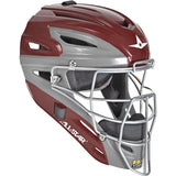All-Star MVP2500 Graphite Two-Tone Catcher's Helmet