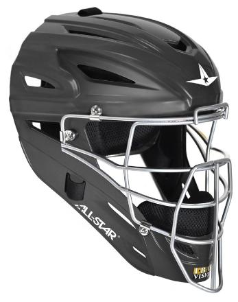 All-Star MVP2500 Solid Matte Catcher's Helmet