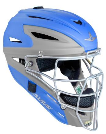 All-Star MVP2510 Matte Two Tone Catcher's Helmet - Youth