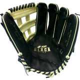 "SSK Black Line 12.75"" Double H Outfield Glove"