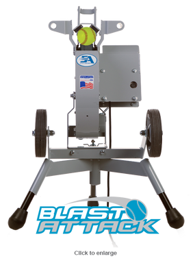 Pro Blast Attack Softball Pitching Machine