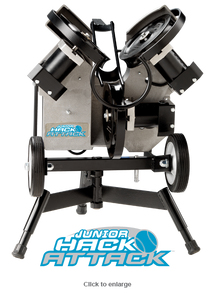 Junior Hack Attack Softball Pitching Machine