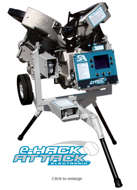 eHack Attack Electronic Softball Pitching Machine