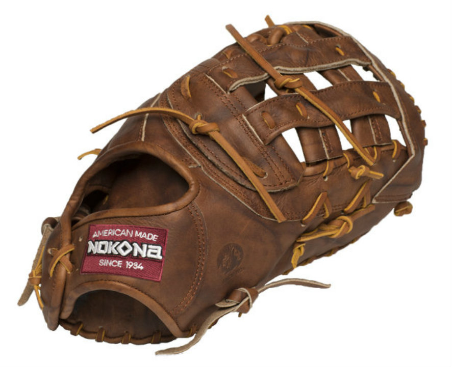 Nokona Classic Walnut First Base Mitt 13.00