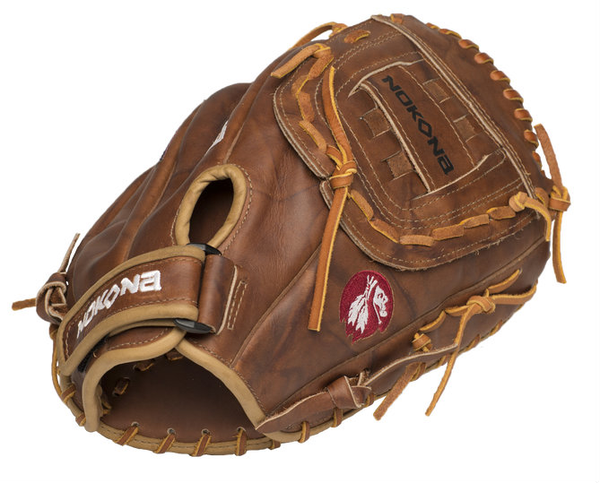 Nokona Classic Walnut First Base Mitt 14.00""
