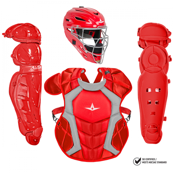 All-Star Classic Pro Catcher's Complete Set - NOCSAE Certified - Adult (Ages 16+)
