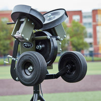 ATEC M3X Baseball Pitching Machine - On Tripod