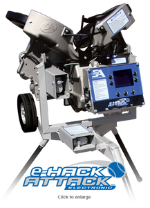 eHack Attack Electronic Baseball Pitching Machine