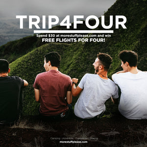 Win a free trip with 3 mates!