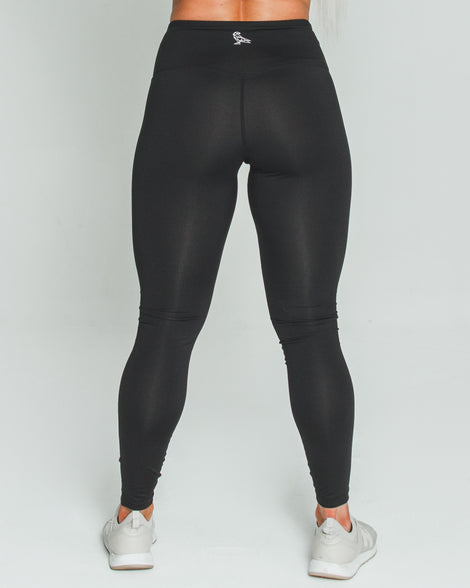 BALANCE LEGGINGS - BLACK - Dark Apparel