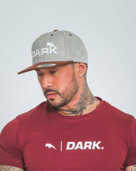 DARK x FLEXFIT SUEDE PEAK - SNAPBACK - Dark Apparel