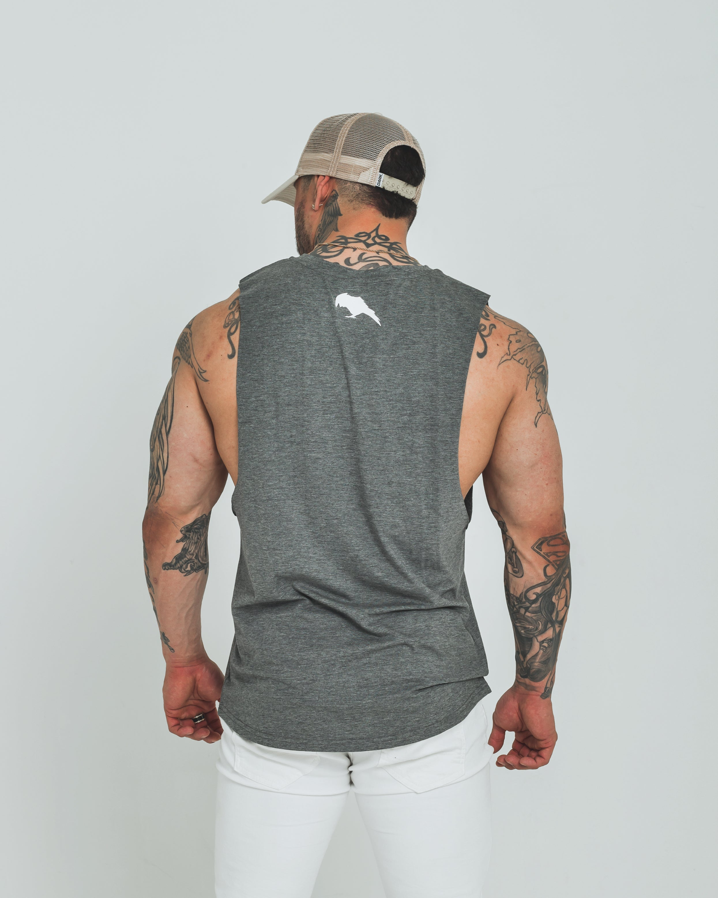 DARK TANK - WHITE - Dark Apparel