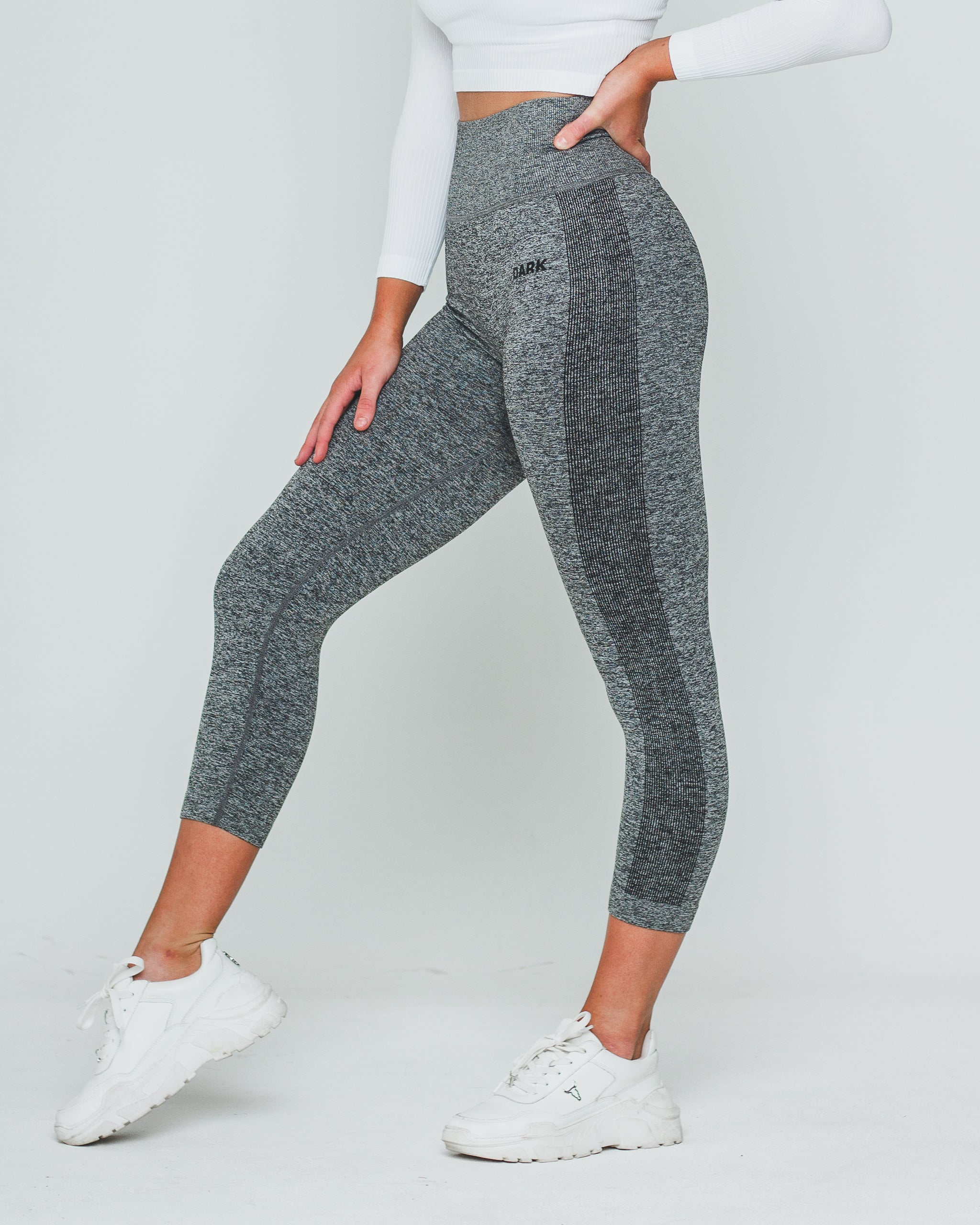 SEAMLESS SV1 CAPRI | GREY - Dark Apparel