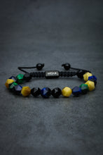 Load image into Gallery viewer, Black Shembala Mix Stone Bracelet