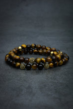 Load image into Gallery viewer, Tiger Eye Double Bracelet