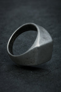 Silver Gate Ring