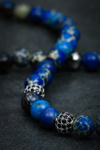 Load image into Gallery viewer, Lapis Lazuli Double Bracelet