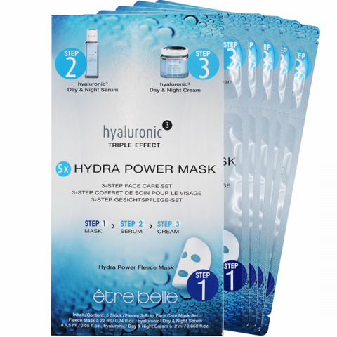 Hyaluronic ³ Hydra Power Maske 3-Step Face Care Set