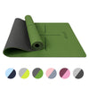 Yoga Exercise Mat Green
