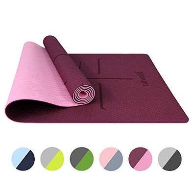 Yoga Exercise Mat Maroon