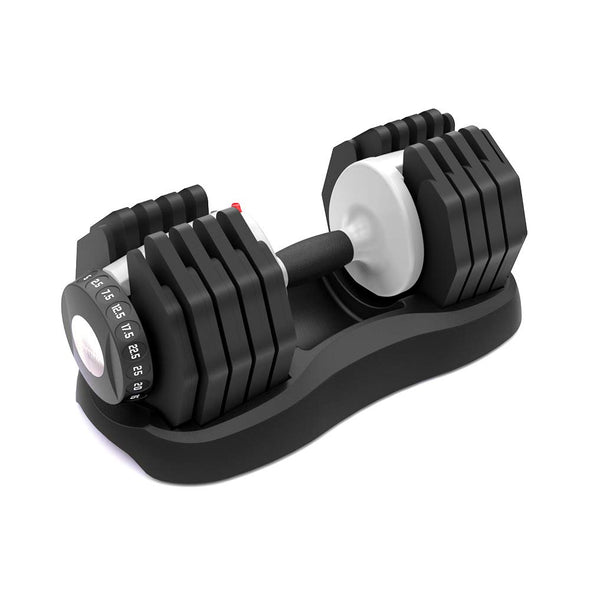 ATIVAFIT Adjustable Dumbbell 55 lbs Weight Set Home Fitness Adjustable Dial System Dumbbell for Men Women Gym