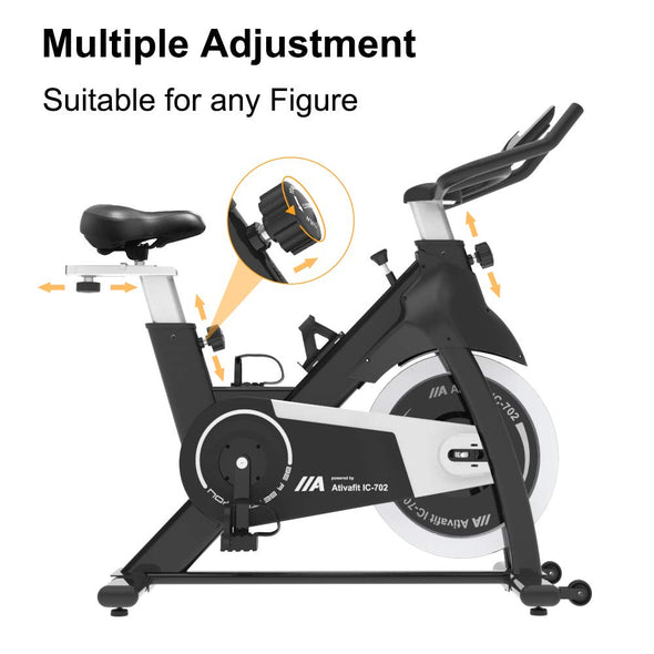 Indoor Cycle with 35 lbs Flywheel