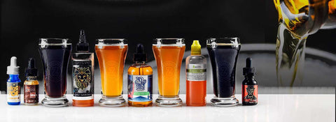 Beverage flavor E-juices. Your Favorite drinks made into Vape