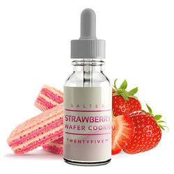 Salt Drops eLiquid - Salted Strawberry Wafer Cookie