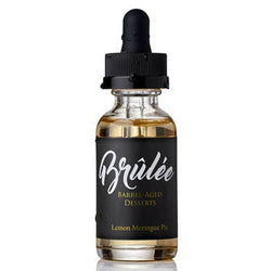 Brulee Barrel Aged Desserts by Golden State Vapor - Lemon Meringue Pie
