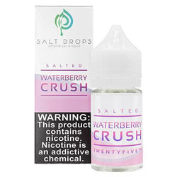 Salt Drops eLiquid - Salted Waterberry Crush