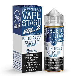 Emergency Vape Stash Vol 2 - Blue Razz Slushie On Ice