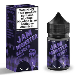 Jam Monster eJuice SALT - Blackberry