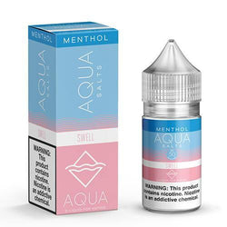 Aqua Menthol eJuice SALTS - Swell