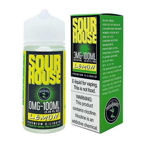 Sour House by The Neighborhood - Sour Lemon