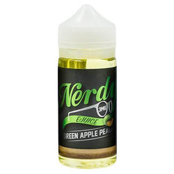 Nerdy E-Juice - Green Apple Peach