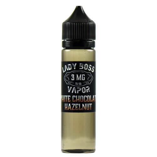Lady Boss Vapor - White Chocolate and Hazelnut