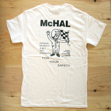 "T-Shirt ""SAFETY"" White"