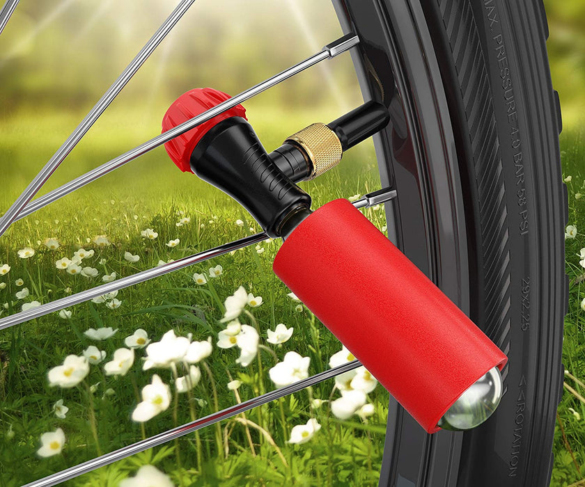 FREE GIFT! CO2 Portable Inflator Kit with any electric bike purchase!