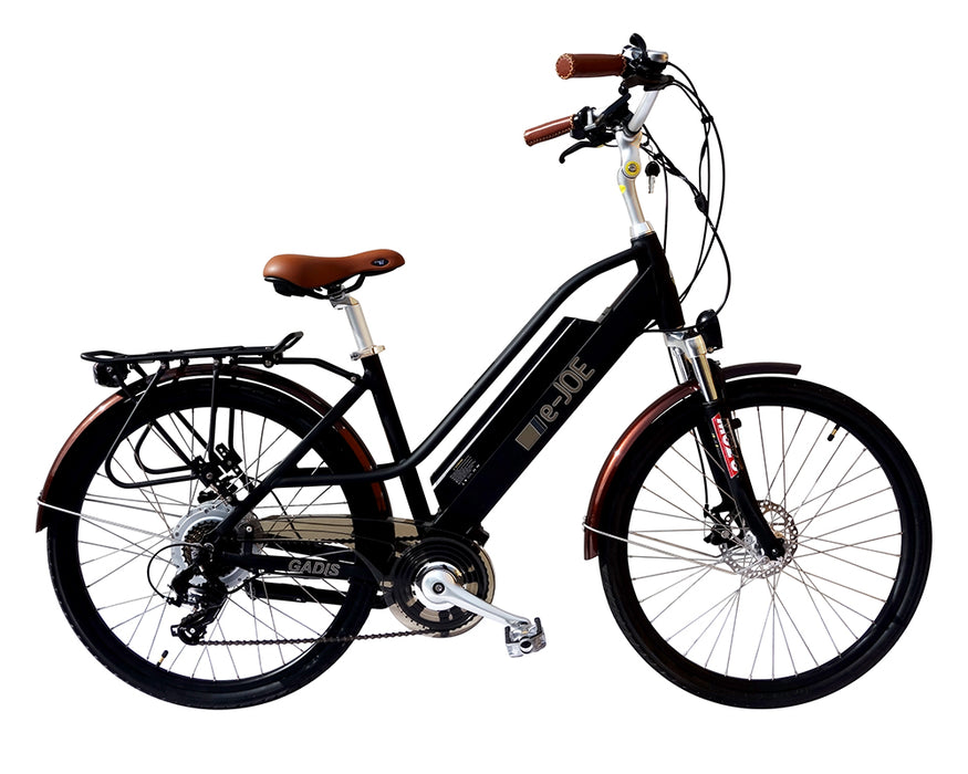 2019 E-Joe Gadis 4.0 Step-Through Cruiser Ebike