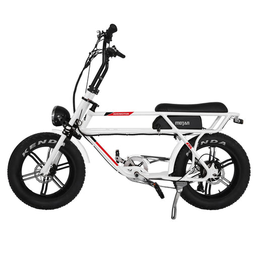 Addmotor Cruiser White Addmotor MOTAN M-70 (R7) Electric Bike Electric Bicycle USA