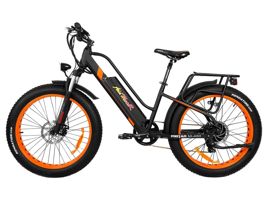 Addmotor Fat Bike Addmotor MOTAN M450 Women's Electric Fat Bike Electric Bicycle USA