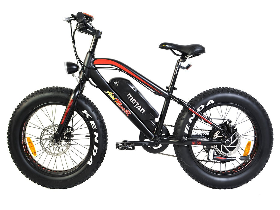 Addmotor Fat Bike Addmotor MOTAN M50 Youth Electric Fat Bike Electric Bicycle USA