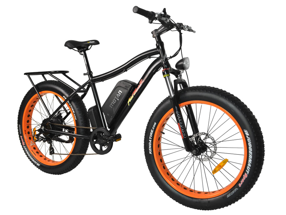 Addmotor Fat Bike Orange Addmotor MOTAN M550-P7 Electric Fat Bike Electric Bicycle USA