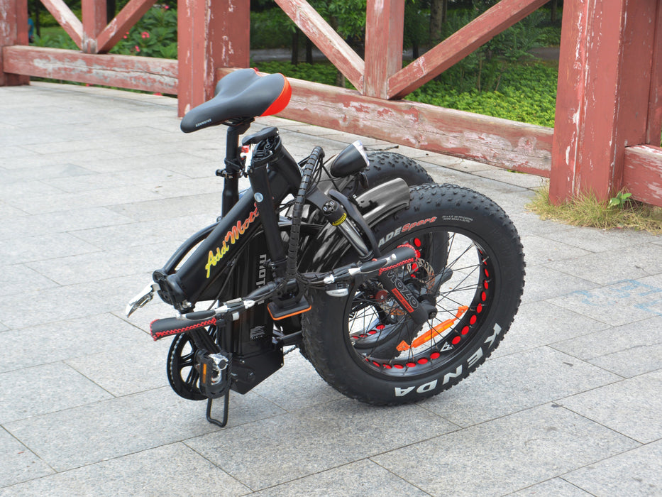 Addmotor Folding Ebike Addmotor MOTAN M150 Folding Fat Ebike Electric Bicycle USA